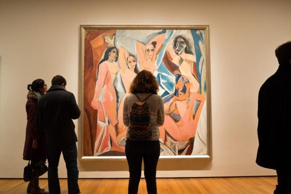 Picasso's Les Desmoiselle's d'Avignon