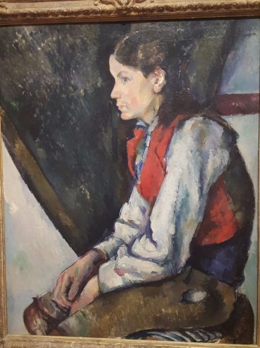 Paul Cézanne: Boy in a Red Vest