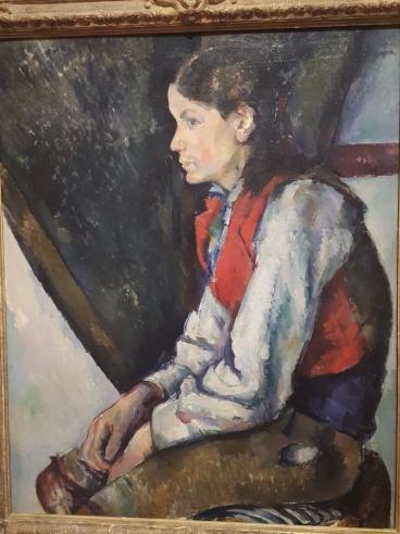 Paul Cézanne: Boy in a Red Vest