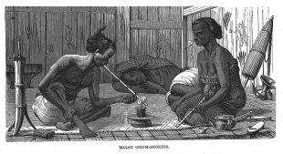 Malay Opium Smokers
