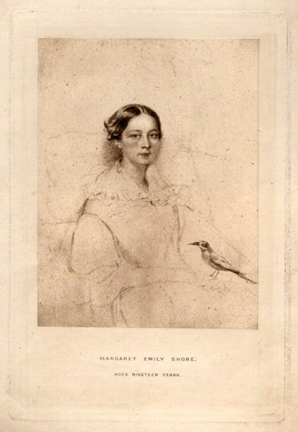 NPG D11267; Margaret Emily Shore after Unknown artist