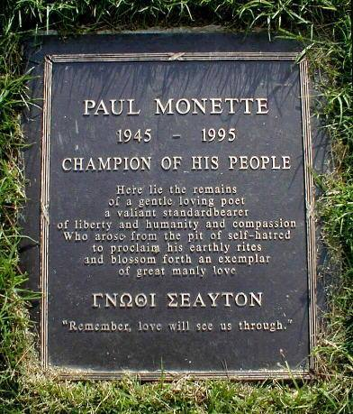 monette epitaph