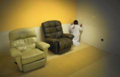 A psychiatric patient prays at a LA Urgent Care Center, Allan J. Schaben, Los Angeles Times (2016)