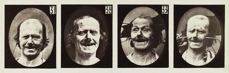 Duchenne smile experiment images